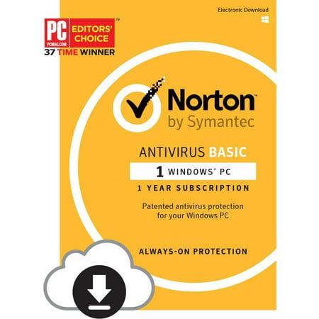 Norton Antivirus Basic 2017 1-device