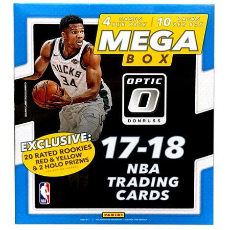 - 17-18 Panini NBA Basketball Donruss Optic Mega Box - 10CT