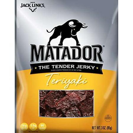 Matador  Teriyaki Beef Jerky 3 Oz  Bag