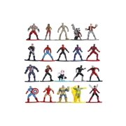 "Jada Toys Marvel Nano METALFIGS 20-Pack Wave 2 Die-Cast, 1.65"", Collectible Figurines, 100%"