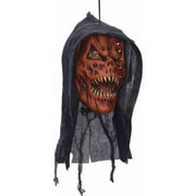 Pumpkin Reaper Poly Foam Head Halloween Decoration