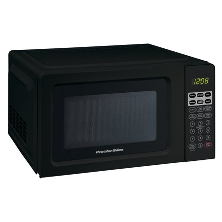 Proctor Silex 0.7 Cu.ft Black Digital Microwave (Best Conventional Microwave Oven)