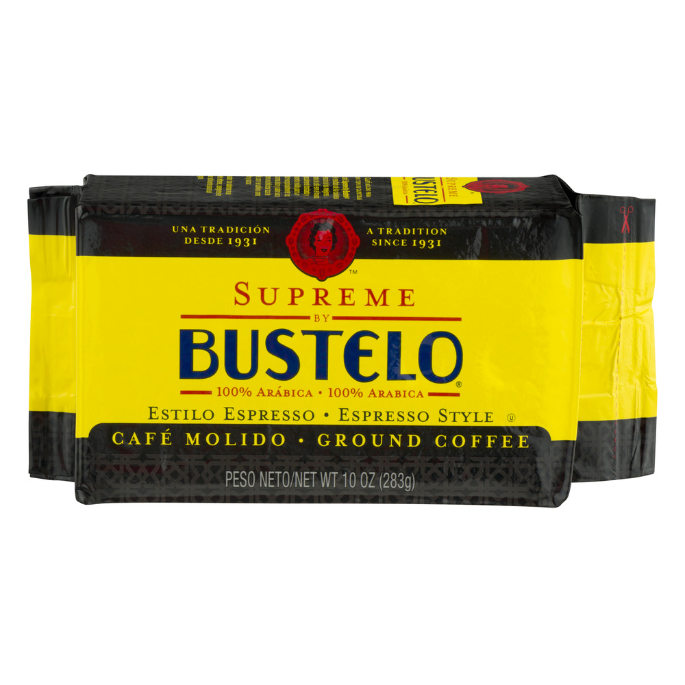 Bustelo Supreme, Expresso Style Ground Coffee, 10.0 OZ