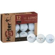 Hunter Golf Balls, Used, Near Mint Quality, 12 Pack