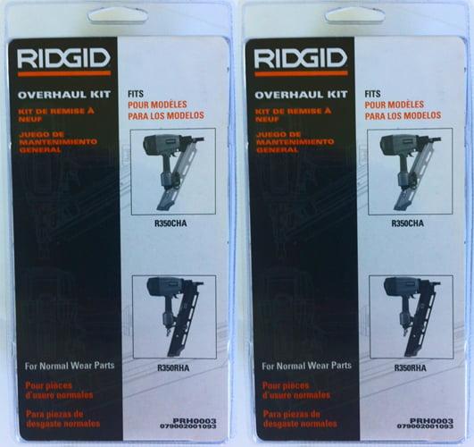 Ridgid R350CHA Clipped Framer Overhaul Maintenance Kits # 079002001093-2PK