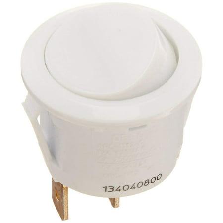 Eureka 2991 Upright Vacuum Cleaner Round Rocker Switch (White) // 76621-1 ()