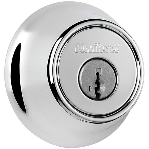 Kwikset 660-S Single Cylinder Deadbolt with SmartKey