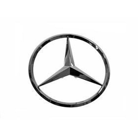 Trunk Deck Lid (Mercedes r171 slk Trunk Star Emblem insignia (OEM ) new rear decklid deck lid )