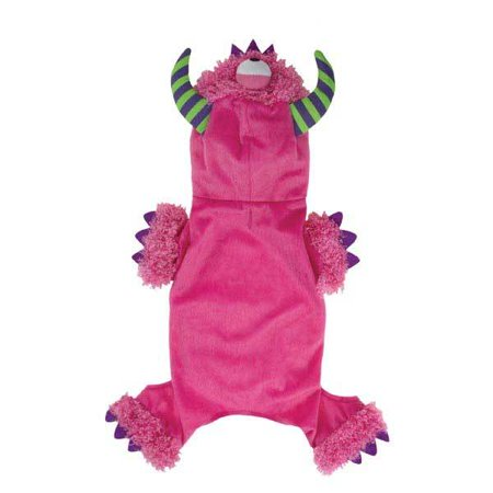 Casual Canine Monster Paws Dog Costume PINK X-SMALL