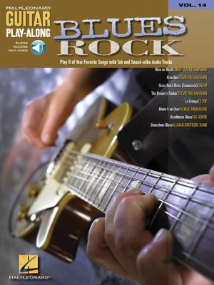 Blues Rock Guitar Play-Along by