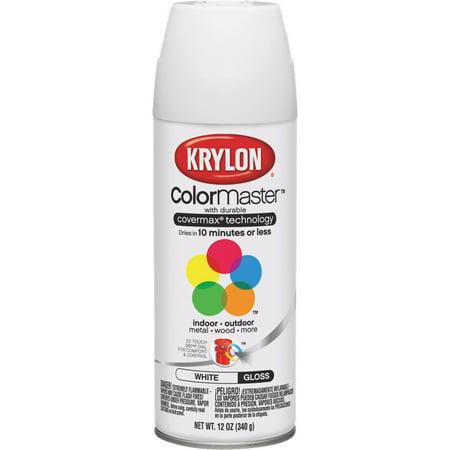 Wht Gloss White Ceramic - Krylon Colormaster Gloss White
