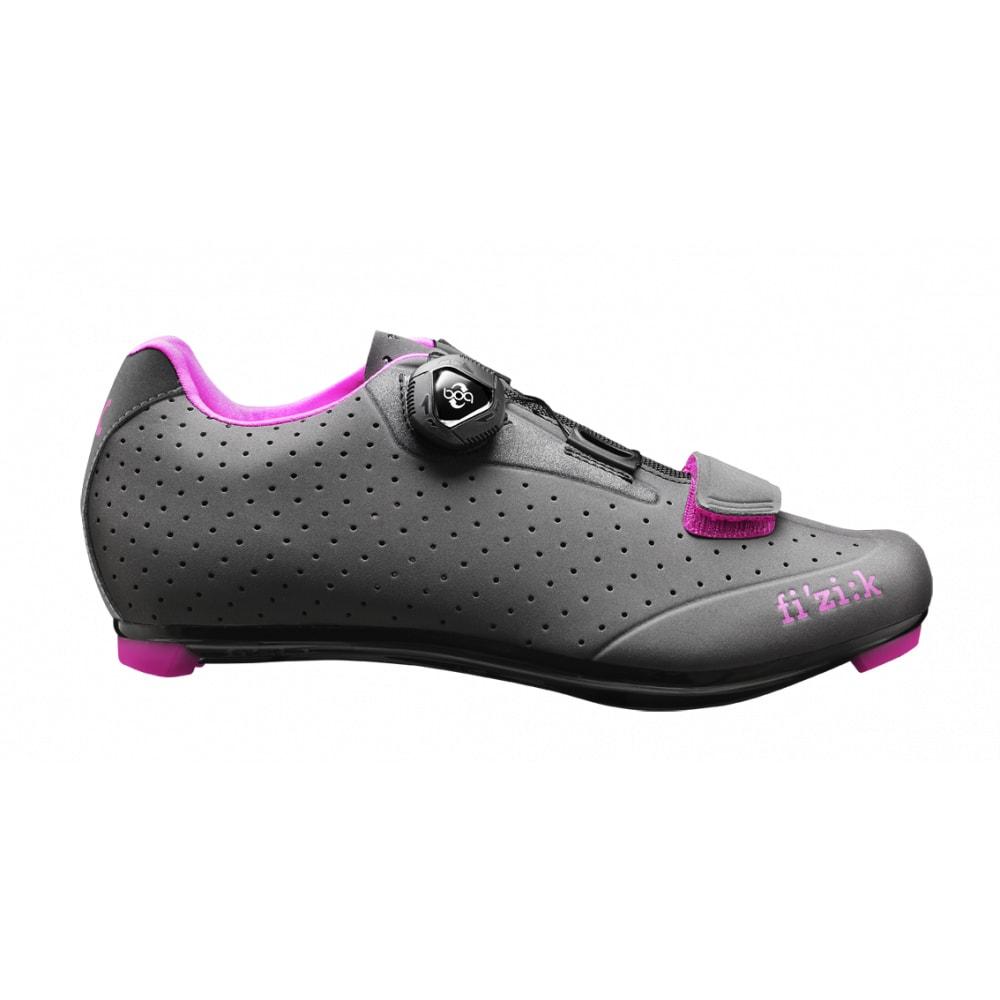 Image of R5B Donna - Women's Shoe w/ BOA - Anthracite/Fuschia Trim - Size 37.5