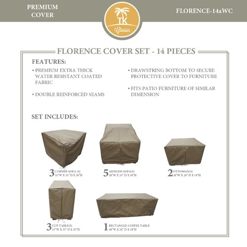 TK Classics Florence 14 Piece Cover Set