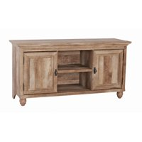 """Better Homes & Gardens Crossmill Collection TV Stand & Console Cabinet for TVs up to 65"""", Weathered Finish"""