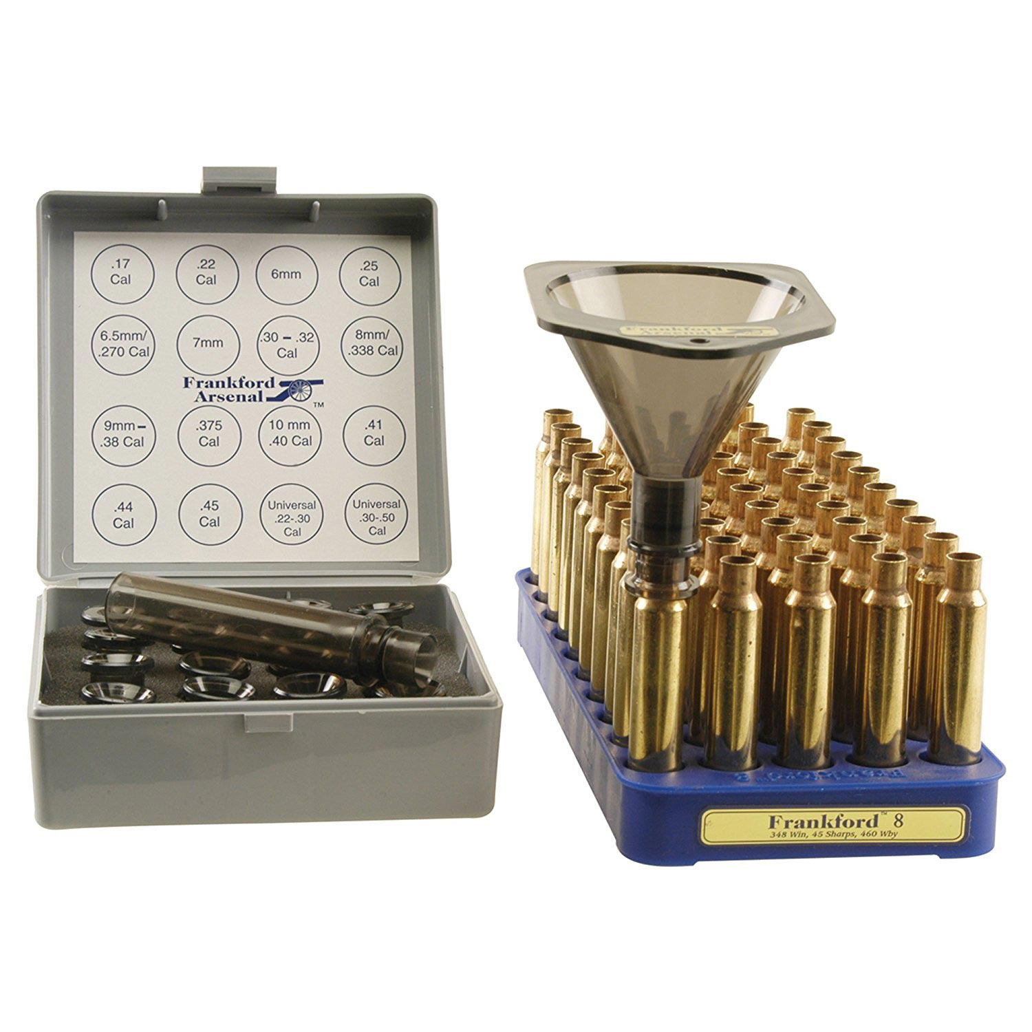 Smith & Wesson 832516 Frankford Powder Funnel With 16 Nozzles And 4 Inch Drop Tube Extension by Smith & Wesson