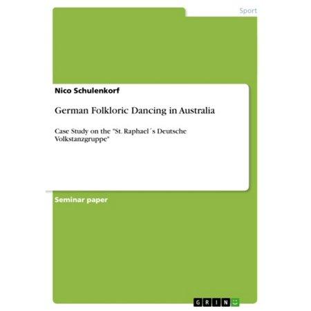 German Folkloric Dancing in Australia - eBook