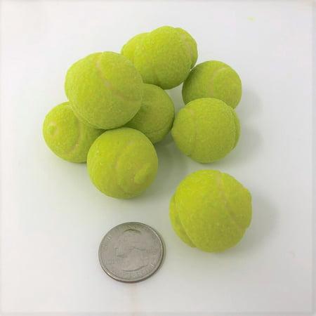 Tennis Balls Gumballs 1 pound bulk green gum balls - Gumballs For Sale