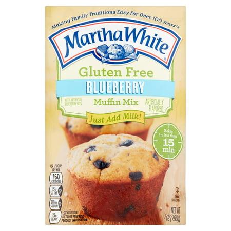 Martha White Gluten Free Blueberry Muffin Mix  7 Oz