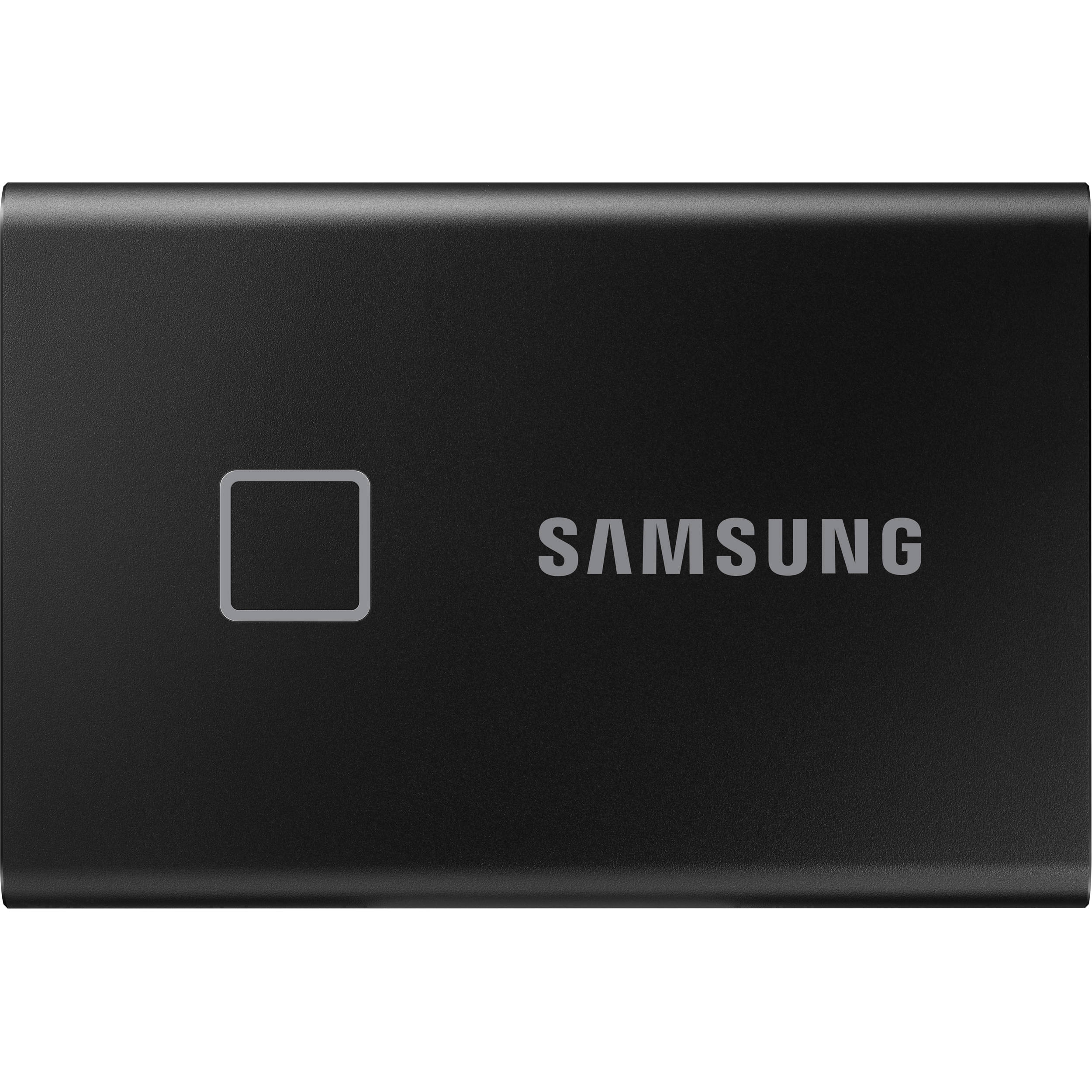 Portable SSD T7 TOUCH USB 3.2 500GB (Black)