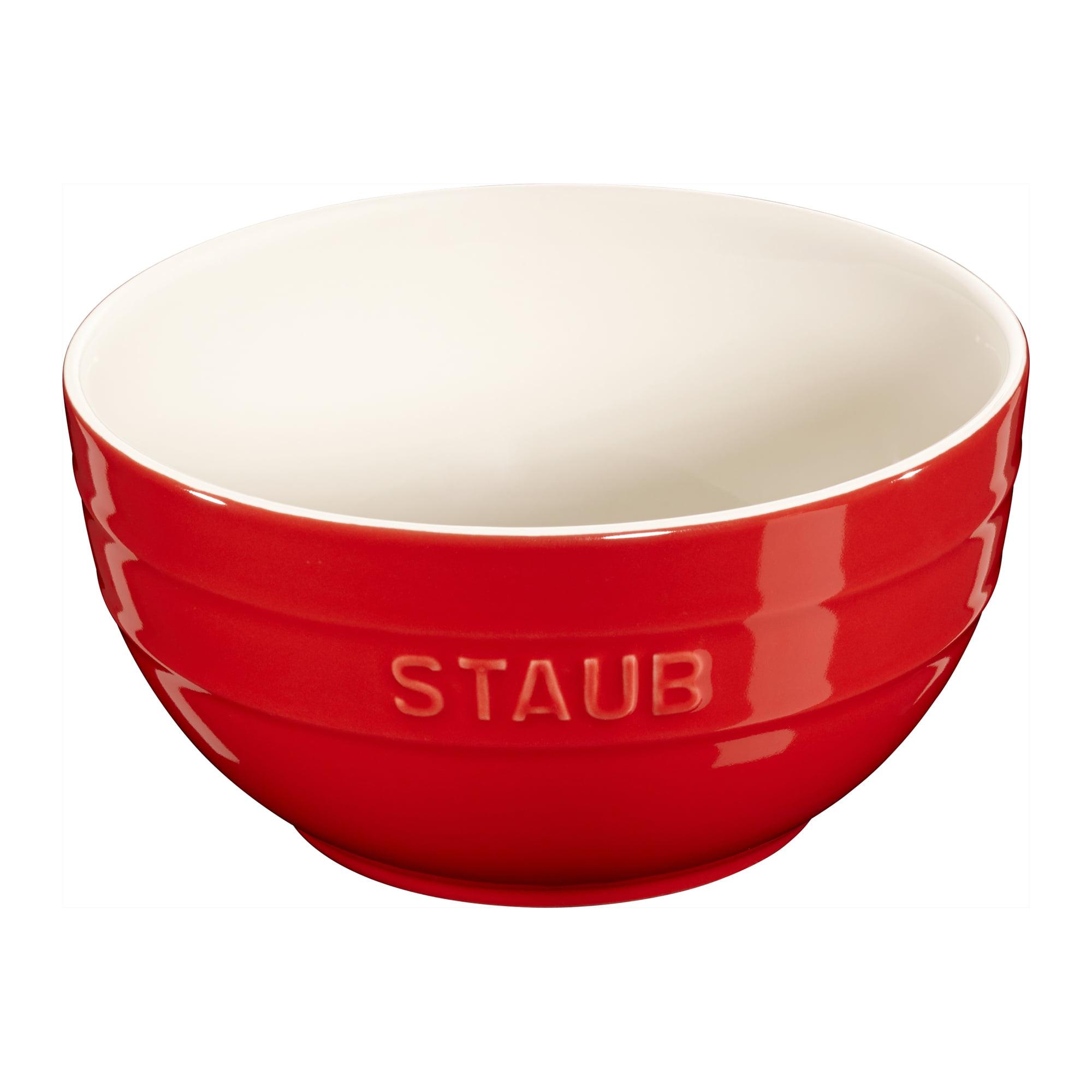 "Staub Ceramic 6.5"" Large Universal Bowl - Cherry"