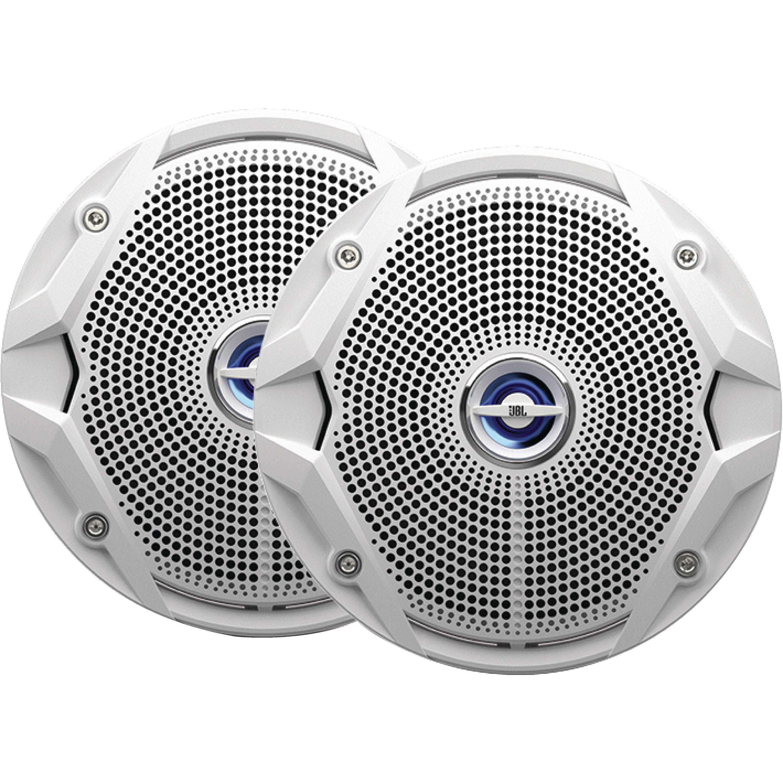 "JBL MS6510 White 6"" Dual Cone 150 Watt Marine Stereo Speakers - 1 Pair"