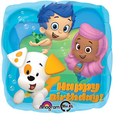 Play Bubble Guppies Halloween Party (Bubble Guppies Happy Birthday Foil / Mylar Balloon 18