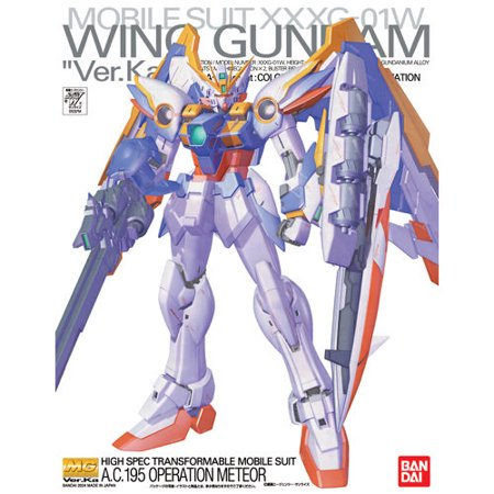 Bandai Hobby WING GUNDAM VER. Ka MG 1/100 Model Kit