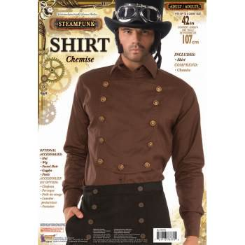 STEAMPUNK BROWN SHIRT (Steampunk Man)