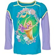 Tangled - Bold is Beautiful Girls Juvy 2fer Long Sleeve T-Shirt - Juvy 5