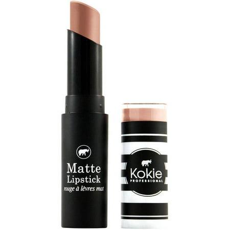 Kokie Professional Matte Lipstick, Sienna Pink, 0.14 fl