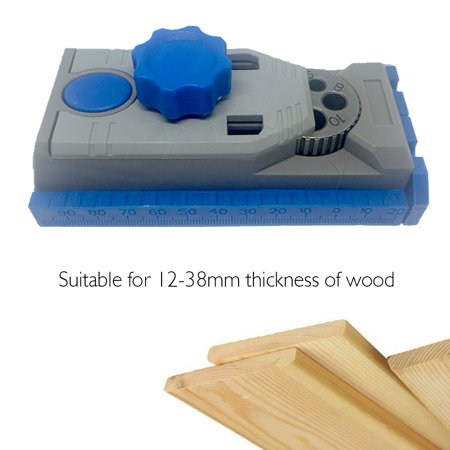 Joinery Saws - Pocket Hole Jig System 9.5mm Drill Guide Sleeve for Kreg Pilot Wood Drilling Doweling Woodworking Hole Saw & DIY Joinery Work Tool Set