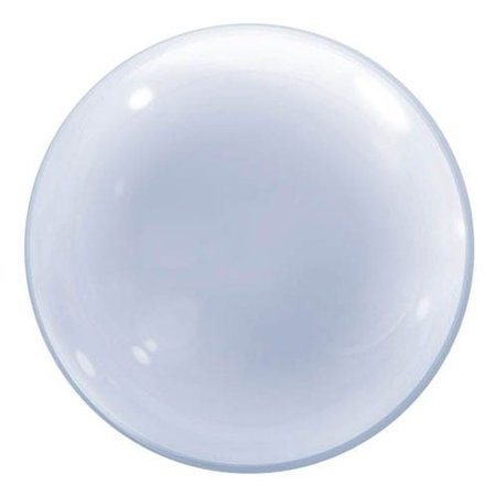 24 Clear Deco Bubble Qualatex Balloons Walmartcom
