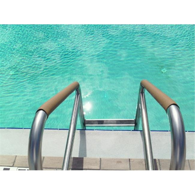 Secure-Grip P14.5-1.9T Pool 14.5 In. Rail Cover, Standard Size 1.9 In. Od, Taupe