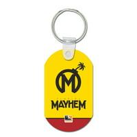 Florida Mayhem WinCraft Metal Key Ring