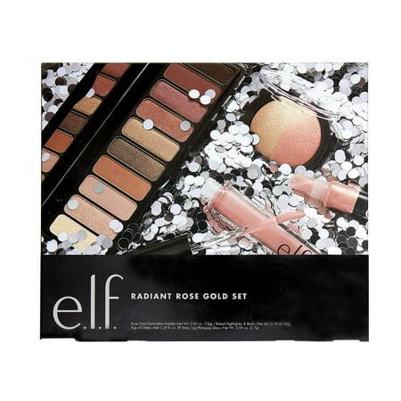 e.l.f. Cosmetics Radiant Rose Gold Value Set ($23 Value)