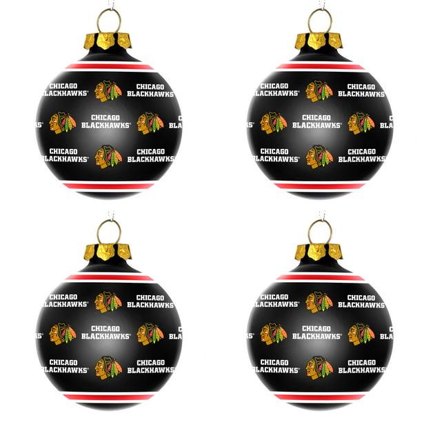 Chicago Blackhawks Christmas Ornament