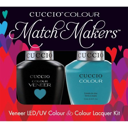 Veneer and Colour Matchmaker Nail Polish, St. Barts in A Bottle, LED/UV formula cures in as little as 30 seconds By Cuccio