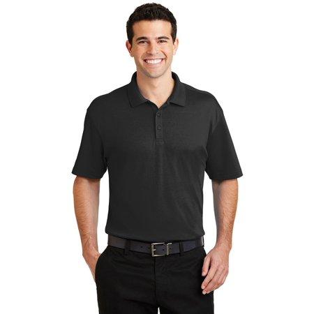 Port Authority Men's Silk Touch Interlock Polo shirt