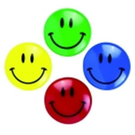 Smiley Face Magnet, Pack 2 - Magnet Pen