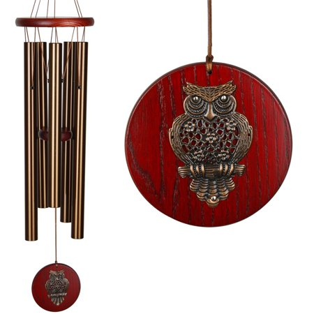 Woodstock Habitats™ Chime - Bronze, Owl