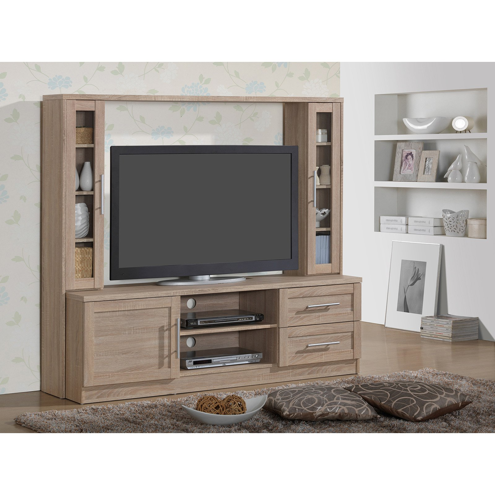Techni Mobili Vegas Sand Home Entertainment Center for TVs up to 55\ by Techni Mobili