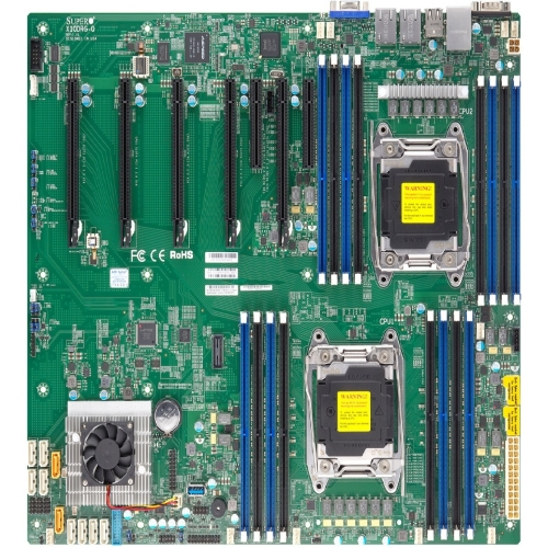 Supermicro X10drg-q Server Motherboard - Intel C612 Chipset - Socket Lga 2011-v3 - 1 X Bulk Pack - Proprietary Form Factor - 2 X Processor Support - 512 Gb Ddr4 Sdram Maximum Ram - 2.13 Ghz] (158440)