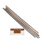 Fasade  Backsplash Accessory Kit Polished Copper