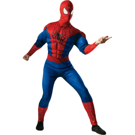 Adult's Mens Marvel Comics Universe Amazing Spiderman Muscle Costume - Muscle Spiderman