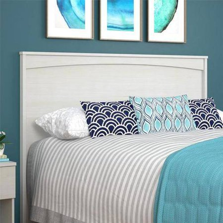 Ameriwood Home Crescent Point Queen Size Headboard, Multiple Colors (Queen Size Stockings)