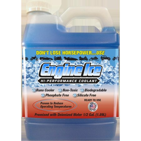Engine Ice 1/2 Gallon Engine Coolant for Powersport