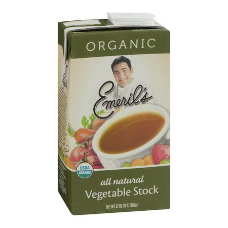 Emeril's Stock, Vegetable, Organic, 32 FL OZ (Pack of