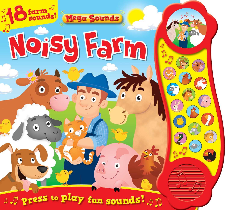 Noisy Farm (Sound Book): 18 Farm Sounds (Board Book)