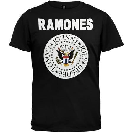 Ramones Eagle (Ramones - Full Color Seal T-Shirt)