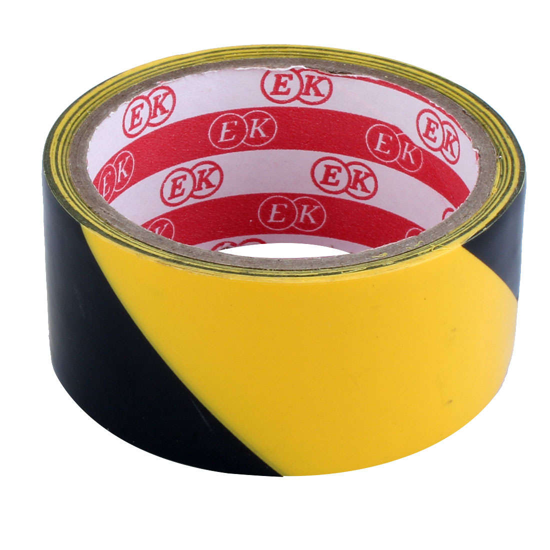 Unique Bargains Black Yellow 44mm Width 10 Meters Floor Adhesive Safety Caution Tape